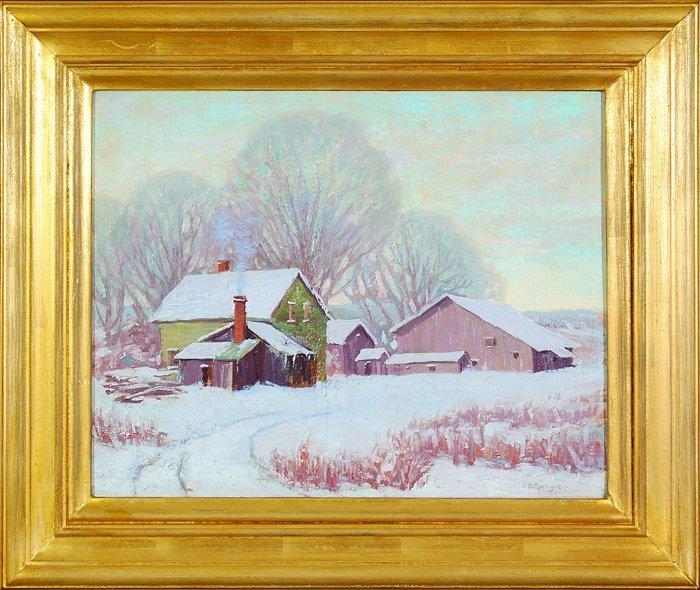 7: Amelia Browne Sprague (1870-1951) - Oil