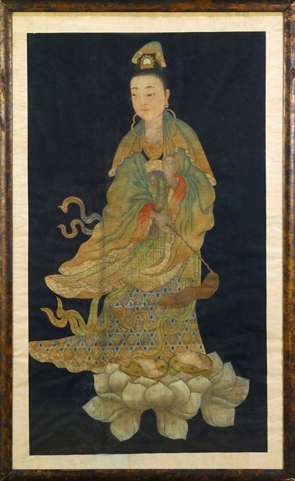 9: Chinese Painting on Silk