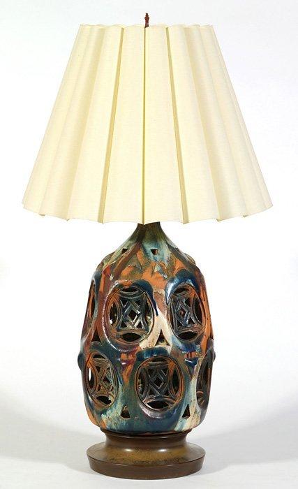 18: Italian Ceramic Lamp