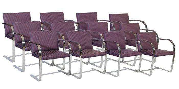22: Brueton Chairs