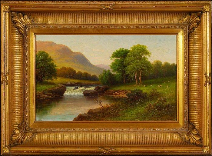 178: Robert Seldon Duncanson (1821-1872) - Oil