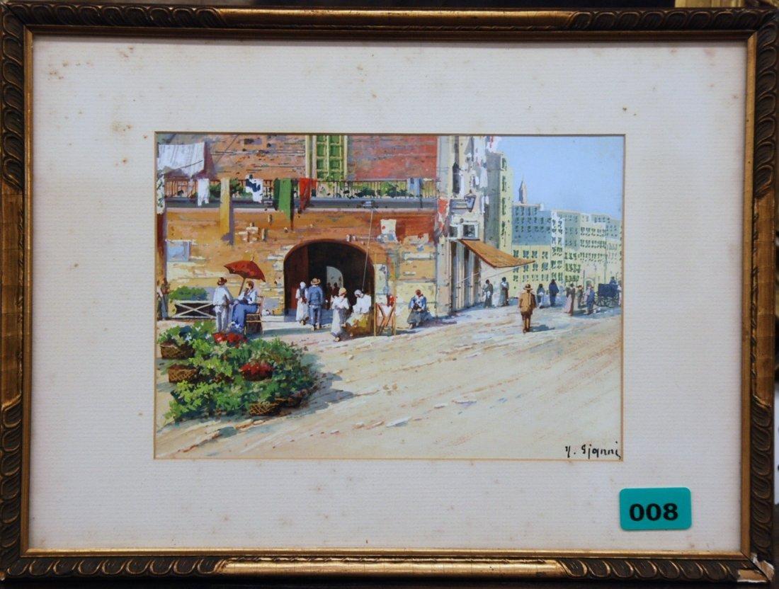 Y. Gianni  Watercolor