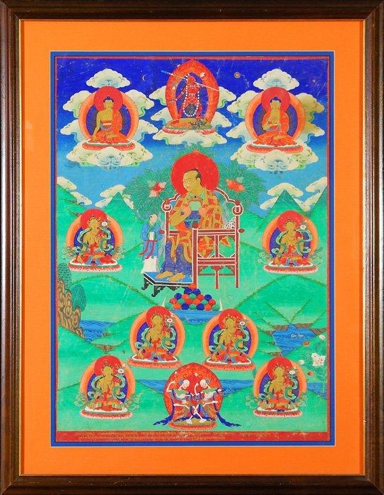 Hindu God Watercolor
