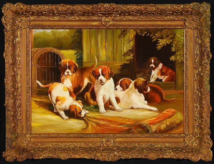 The Puppies, Oil