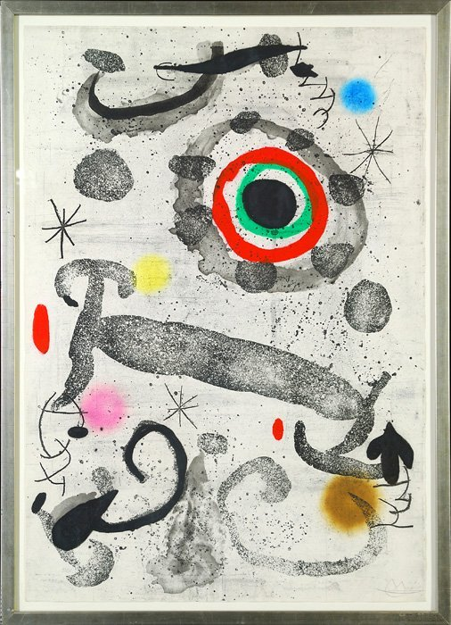 Joan Miro (1893-1983 Spain)
