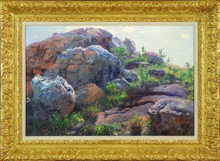 William Robinson Leigh (1866-1955) NY/Maryland/Germany