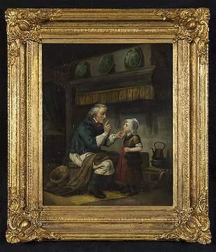 19th Century Oil
