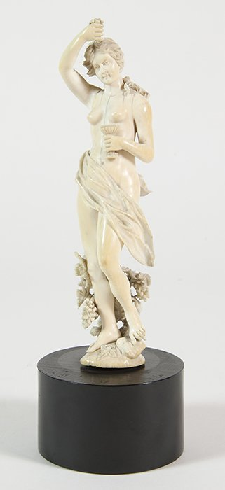 Outstanding Nude Ivory Carving