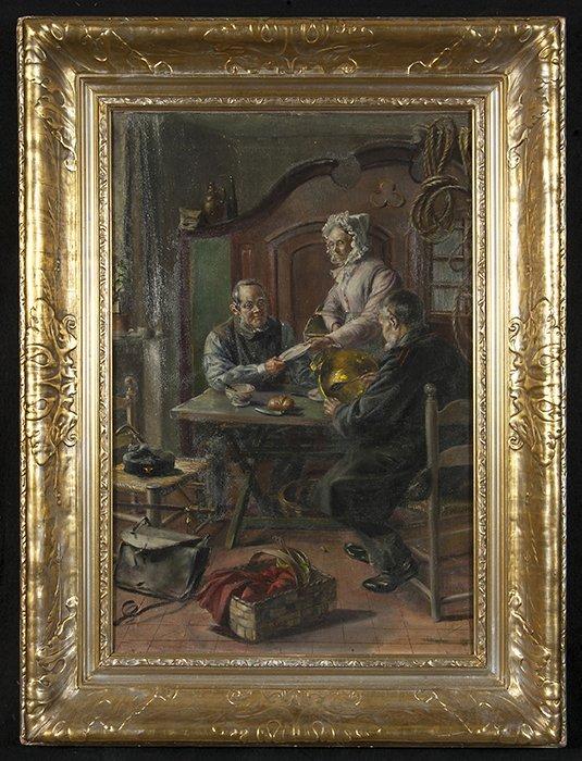 "19th Century, ""Dinner Time"""