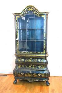 Outstanding Late 18th Century Chinoiserie Cabinet