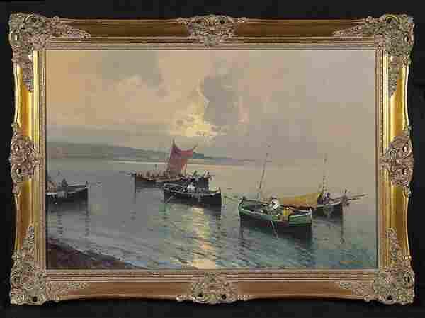 Hansen Harbor Scene