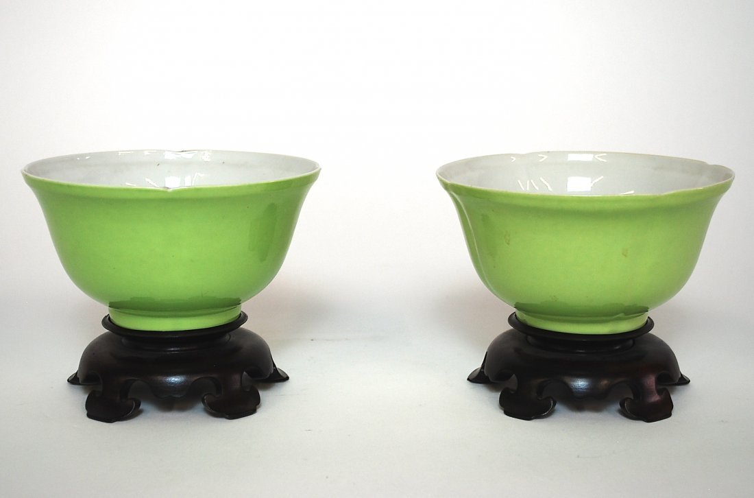 Pair of 16th Century Chinese Bowls.