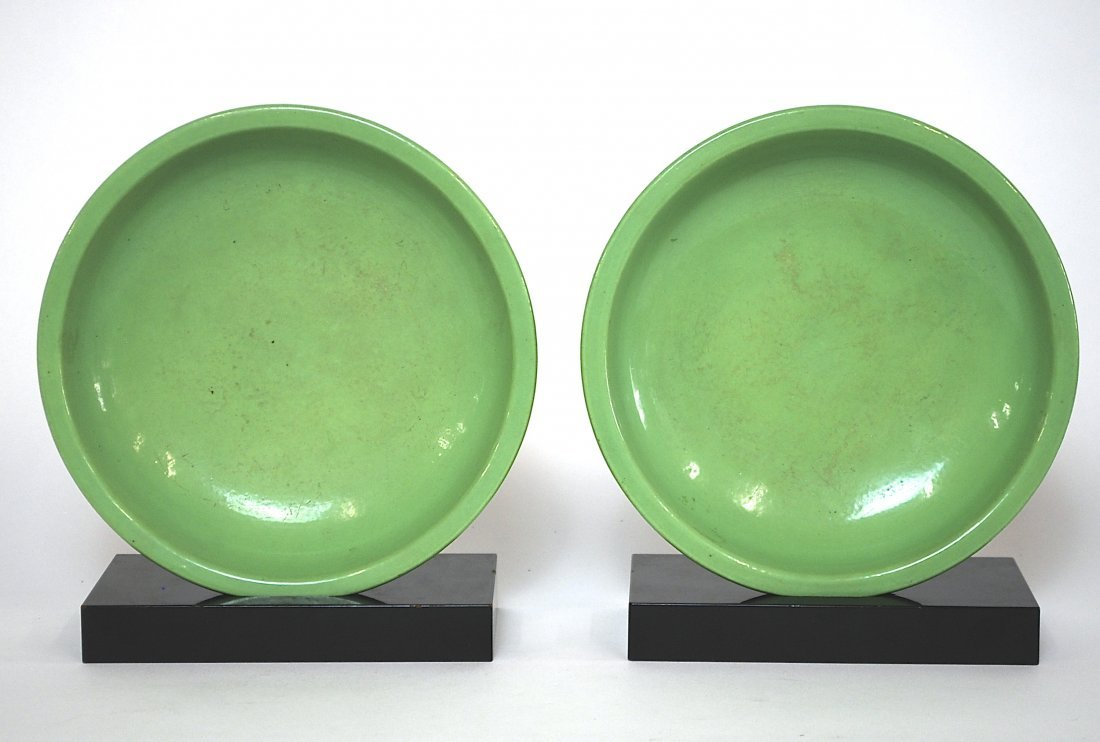 Pair of 16th Century Chinese Bulb Containers