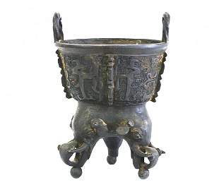 Chinese Ritual Bronze (Ming Dynasty)
