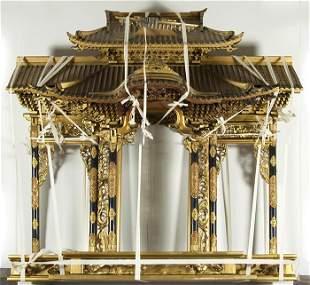 19th Century Japanese Shrine