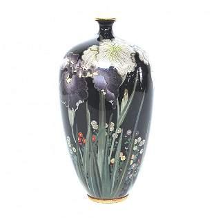 19th Century Japanese Cloisonne Vase