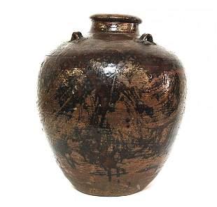 16th Century Chinese Martaban Storage Jar