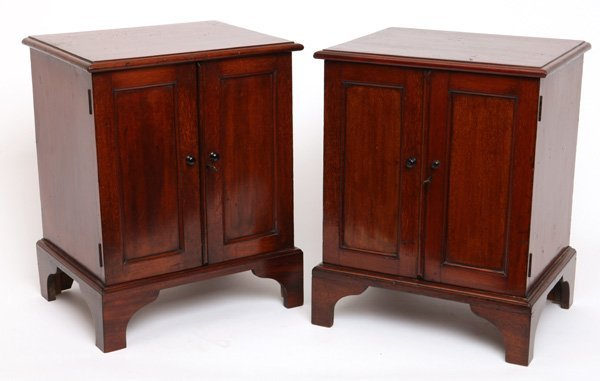 Pair of 19th Century miniature chests