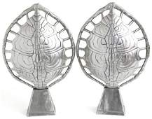 Arthur Court Tortoise Shell Lamps