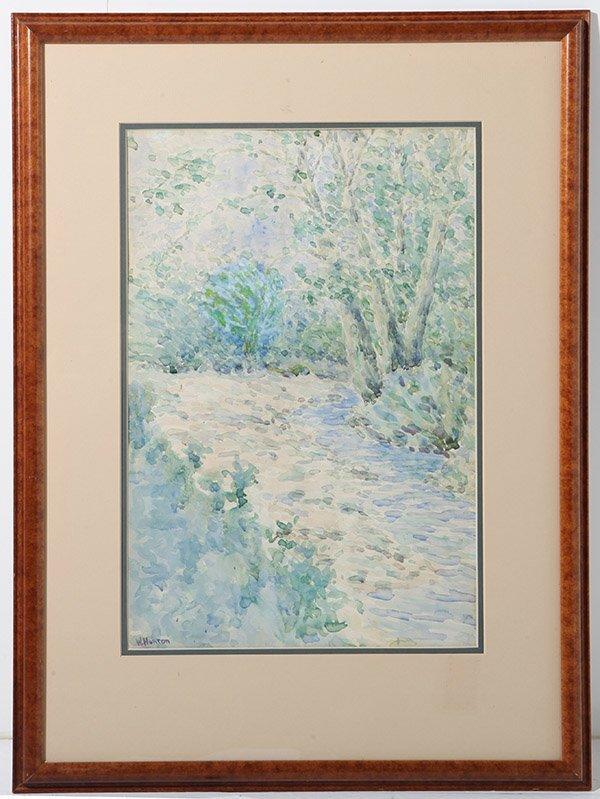 W. Horton Watercolor