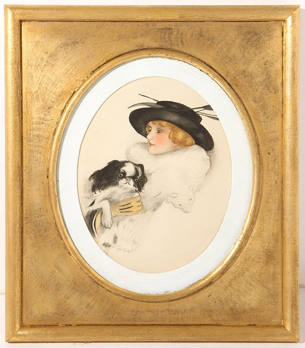 Marian Moore  Watercolor