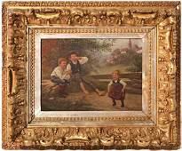 Edward Louis Kimloch Oil