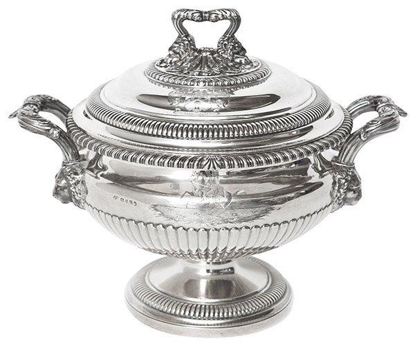 George III Soup Tureen, Paul Storr