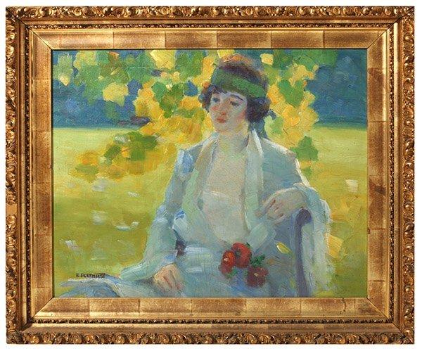 Edward Henry Potthast (1857 - 1927) Oil Attribution