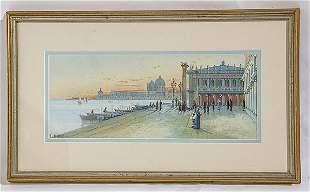 Y. Gianni (19th /20th Century) Gouache