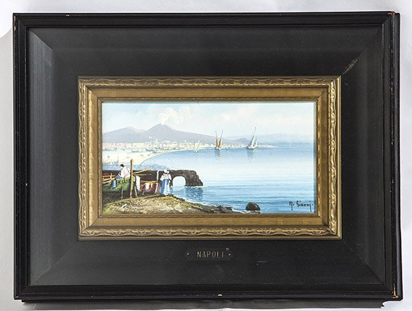 M. Gianni (19th /20th Century) Oil