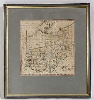 1818 Map of Ohio
