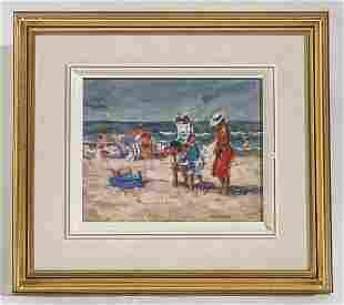 Frojeda Ojeda (20th Century) Oil
