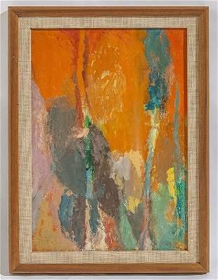 Arthur Osver (1912-2006) Oil