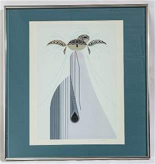 Charlie Harper (1922-2007) Serigraph