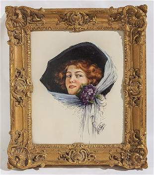 Kate Swope (Born 1879) Oil
