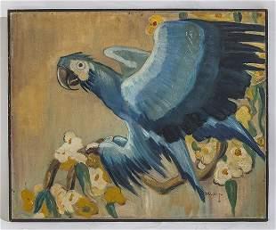 Doug Wildey (1922-1994) Oil