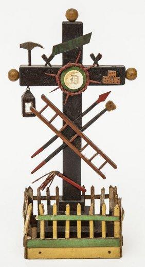 Folk Art Fraternal Cross