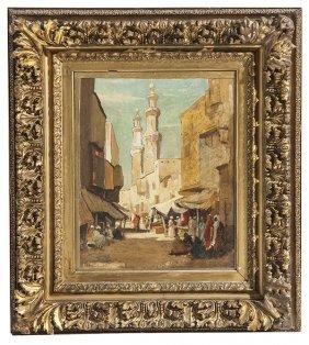 Dudley Hardy (1865-1922) Oil