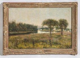 Nicholas Briganti (1861-1944) Oil