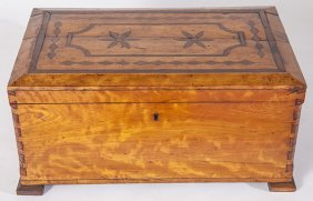 Early Inlaid Document Box