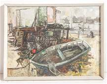 George Campbell (1917-1979) Oil