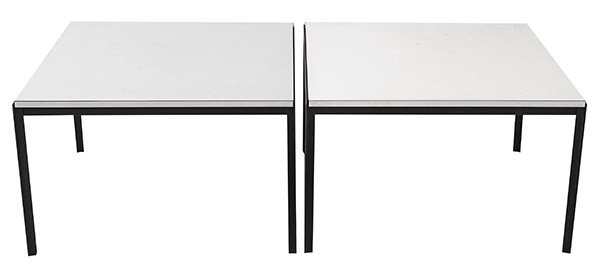 "Florence Knoll ""T"" Angle Coffee Table"