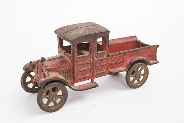 Cast iron classical truck