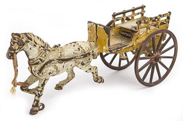 Cast Iron Farm Cart