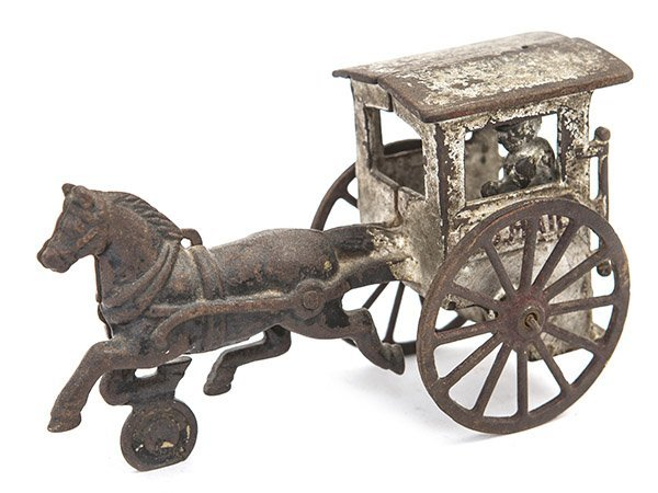 Cast Iron Mail Buggy