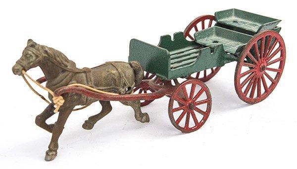 1930's Cast Iron Farm Cart