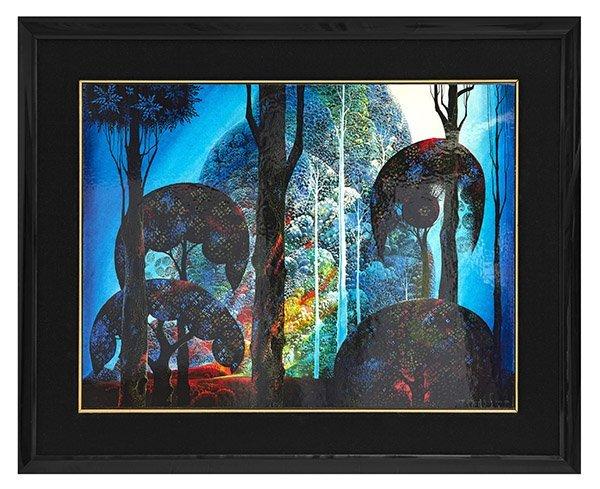 Eyvind Earle (1916-2000) Acrylic