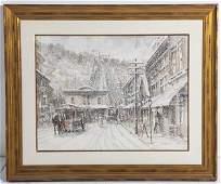 Frank McElwain, Watercolor