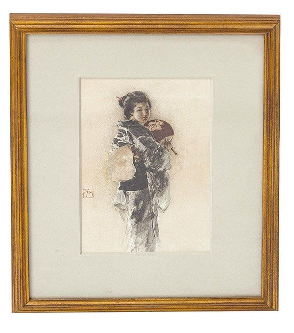 Robert Frederick Blum (1857-1903) Print (New York/Ohio)