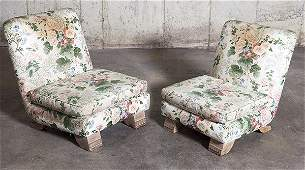 James Mont Slipper Chairs